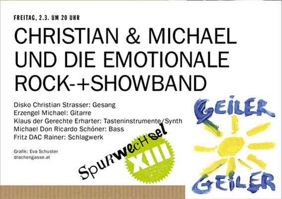 Bild CHRISTIAN & MICHAEL UND DIE EMOTIONALE ROCK-+SHOWBAND