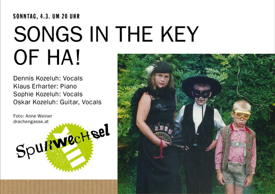 Bild SONGS IN THE KEY OF HA!