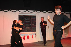 Das Theater kommt in die Schule #WORKSHOP Impro is fun with the English Lovers