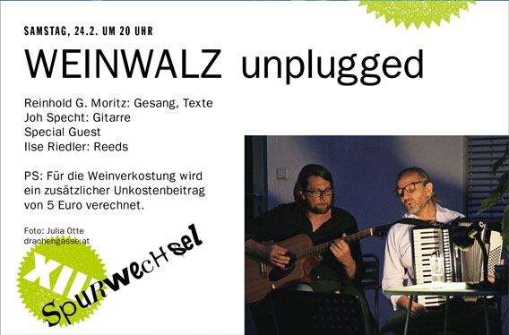 Bild WEINWALZ unplugged
