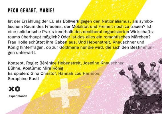 Bild Narziss, du Opfer! – Nachwuchswettbewerb 2018