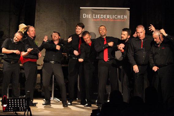 Bild Musikschiene: Die Liederlichen – vocal entertainment