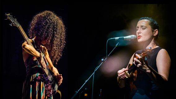 Bild Musikschiene: Jelena Popržan & Tahereh Nourani
