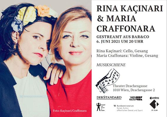 Bild Musikschiene: RINA KAÇINARI & MARIA CRAFFONARA
