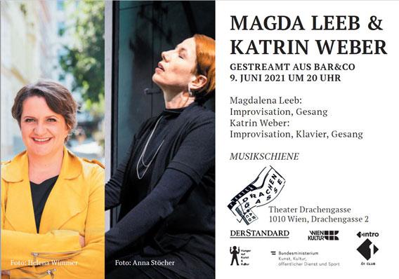 Bild Musikschiene: MAGDA LEEB & KATRIN WEBER
