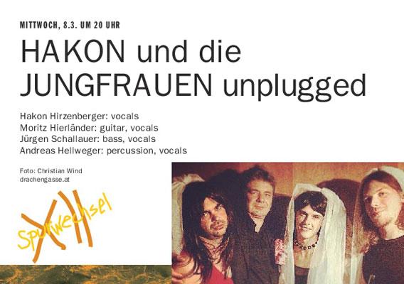 Bild HAKON und die JUNGFRAUEN unplugged